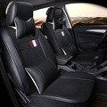 Automóviles de cuero completo de cuero del asiento de coche cojín cuatro estaciones cubiertas de autos generales para hello kitty
