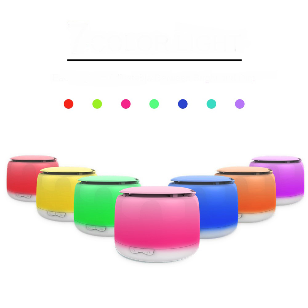 250ML Ultra Quiet Design Air Humidifier 7 Colors Changing Light Aroma Essential Oil Diffuser