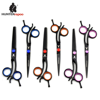 30% off 6 inch HT9168 JP440C stainless steel barber scissors set hair cutting scissor thinning shears for hairdressing salons