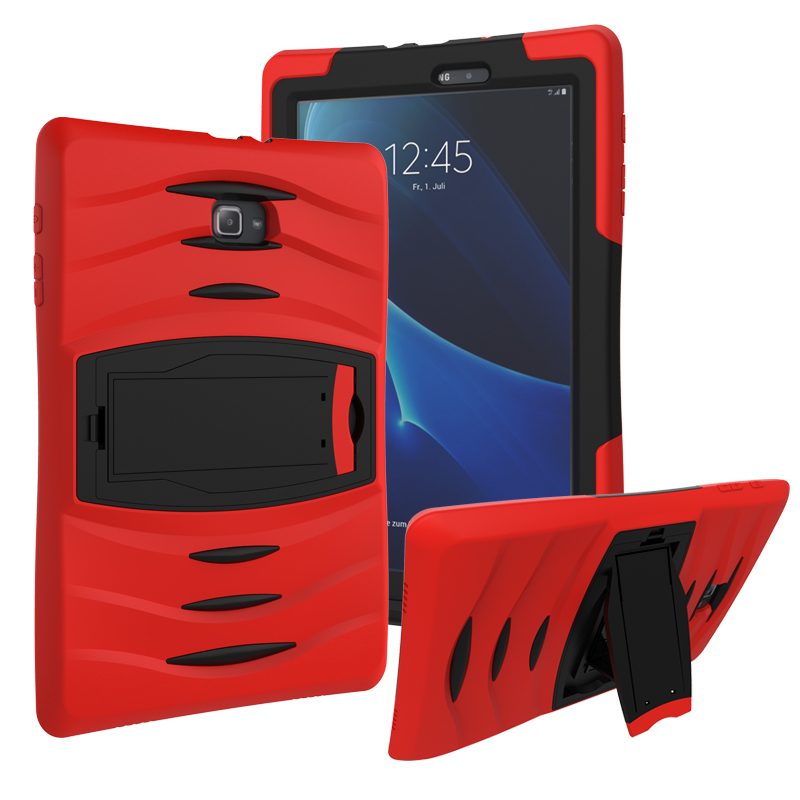 For Samsung Galaxy Tab A6 A 10.1 2016 T580 Customized Armor Hybrid TPU+PC Case With Stand Shockproof Drop Resistance Alabasta hh xw dazzle impact hybrid armor kickstand hard tpu pc back case for samsung galaxy tab a 8 0 inch p350 p355c t350 t355 sm t355