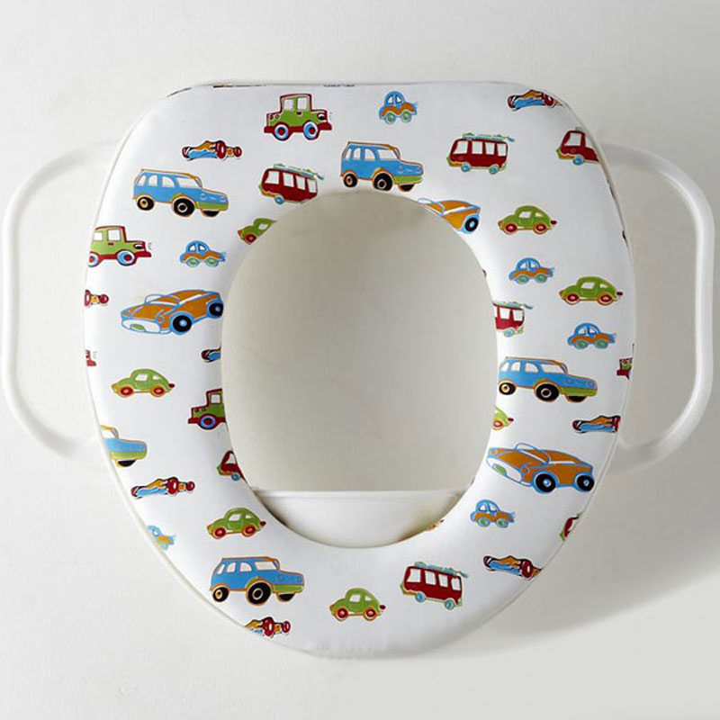 Cartoon Colorful Toilet Seat Kids Soft Toilet Seat Cover