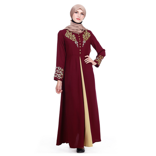 Long Muslim Cardigan Women Kimono Dresses Female Turkey Islamic Prayer Clothing Abaya Kaftan Hijab Robe Caftan Dubai Arab Wear in Islamic Clothing from Novelty Special Use