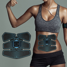 New Sports Electric Abdominal muscle Trainer Toning Belt Abs Training Fitness Machine Gear Arm Thigh Waist Support Massage Fit цена в Москве и Питере