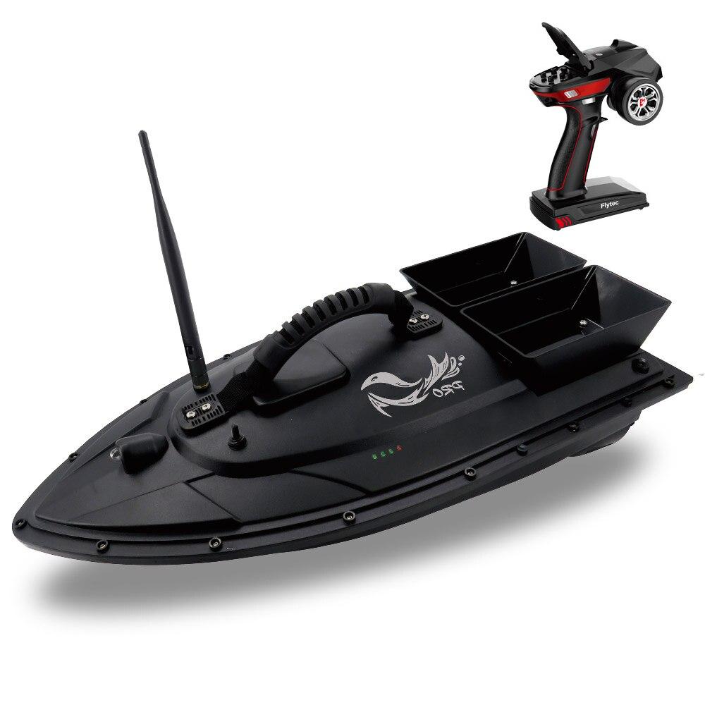 Nouveauté Flytec V500 50 cm appâts de pêche bateau RC 500 M détecteur de poisson à distance 5.4 km/h Double moteur jouets