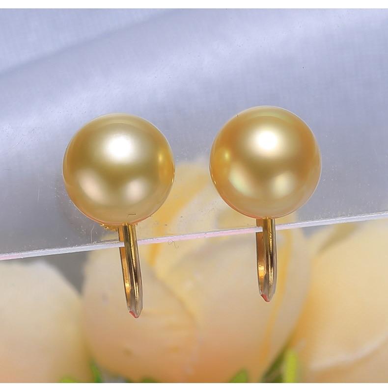 gold southsea pearls earrings jewelry 88