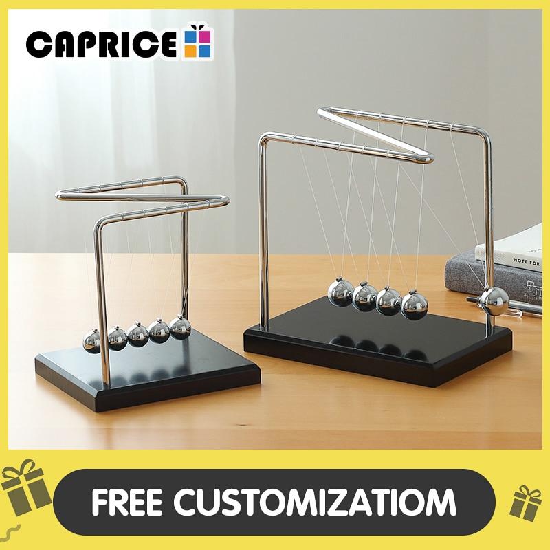 Newton Cradle Steel Balance Ball Physics Science Pendulum Toy Office Decor D