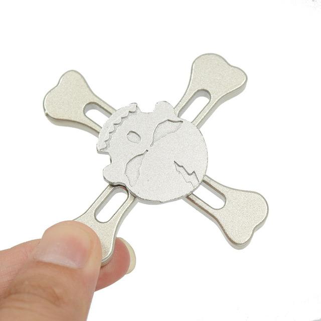 Metal Skull Fidget Spinner