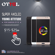 OTMIL 5.0AMOLED for Samsung  J3110 LCD Display Touch Screen For Galaxy J3P J3 pro J3119