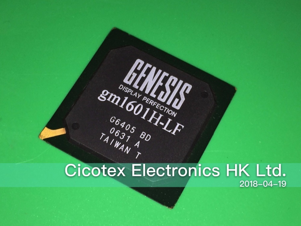 gm1601H-LF-BD BGA HIGH-RESOLUTION DISPLAY CONTROLLER gm1601H-LF