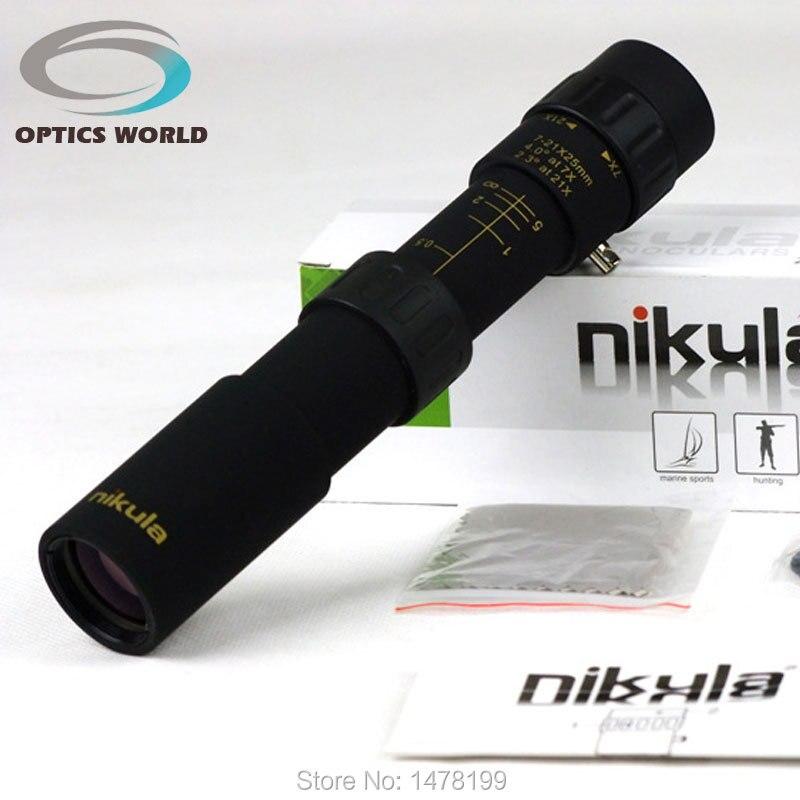 Nikula10-30x25 monoculaire zoom télescope jumelles haute qualité monoculaires de vision nocturne HD de Poche