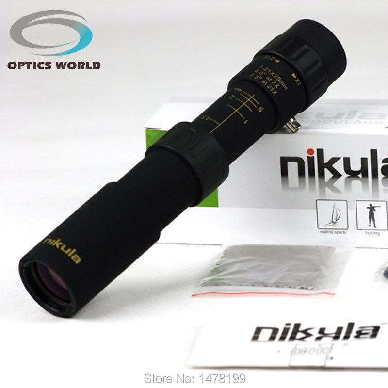 Nikula10-30x25 Монокуляр Увеличить телескоп Бинокль высокого качества Монокуляры ночного видения HD карман