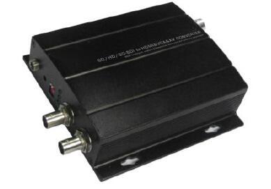 Livraison gratuite convertisseur SD/HD/3G-SDI vers HDMI et VGA et AV