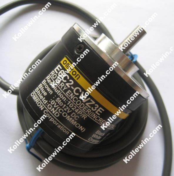 Free shipping encoder E6C2-CWZ3E 1024P/R 5 to 12V DC New encoder e6c2 cwz1x 1024p r 5v dc new