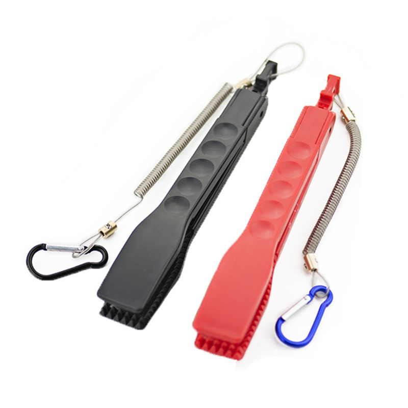Fishing Body Tongs Gripper Plastic Holder Switch Lock fish gripper Gear pince de peche 낚시용품 낚시 집게