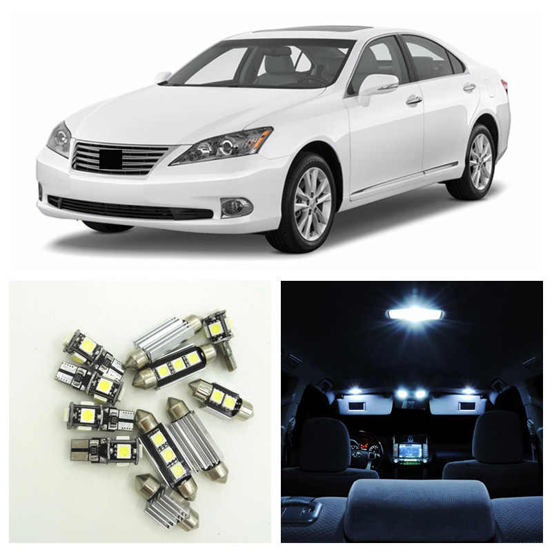 11pcs Canbus White Car LED Light Bulbs Interior Package Kit For 2007-2012 on roof rack for cars, sunglasses holder for cars, cruise control for cars, luggage rack for cars, door handles for cars, xenon bulbs for cars,