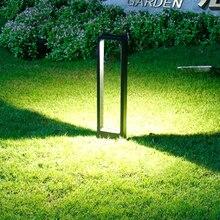 Thrisdar открытый сад газон свет алюминий водонепроницаемый Для дорожки на участке световой столб путь Виллар задний двор парк уличный свет