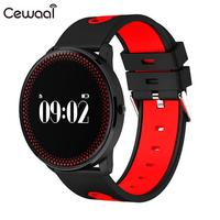 Cewaal Sport Bluetooth Watch Bluetooth 4 Touch Screen Silica Gel Alarm Clock Heart Rate Multifunction Smart Bracelet