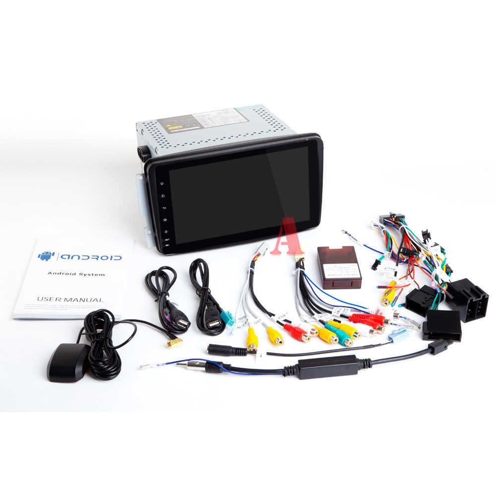 Ips DSP 8 core 4G Оперативная память 2 din Android 9 автомобильный мультимедийный dvd gps для Benz/Vaneo/A-W168/CLK/W209/W203/W208/W463/виано/Вито автомобильный радиоприемник