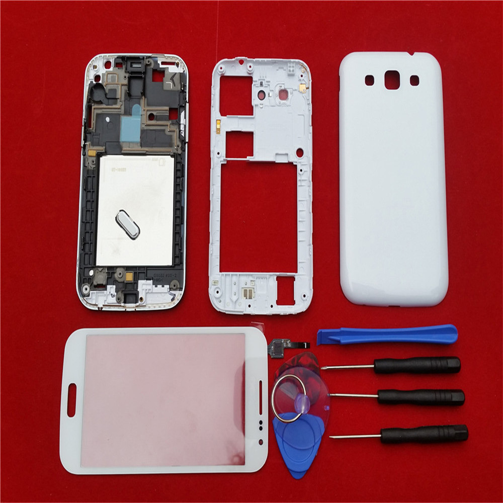 Full Housing Case Cover For Samsung Galaxy Win i8552 Complete Cover back case Mid frame backplate