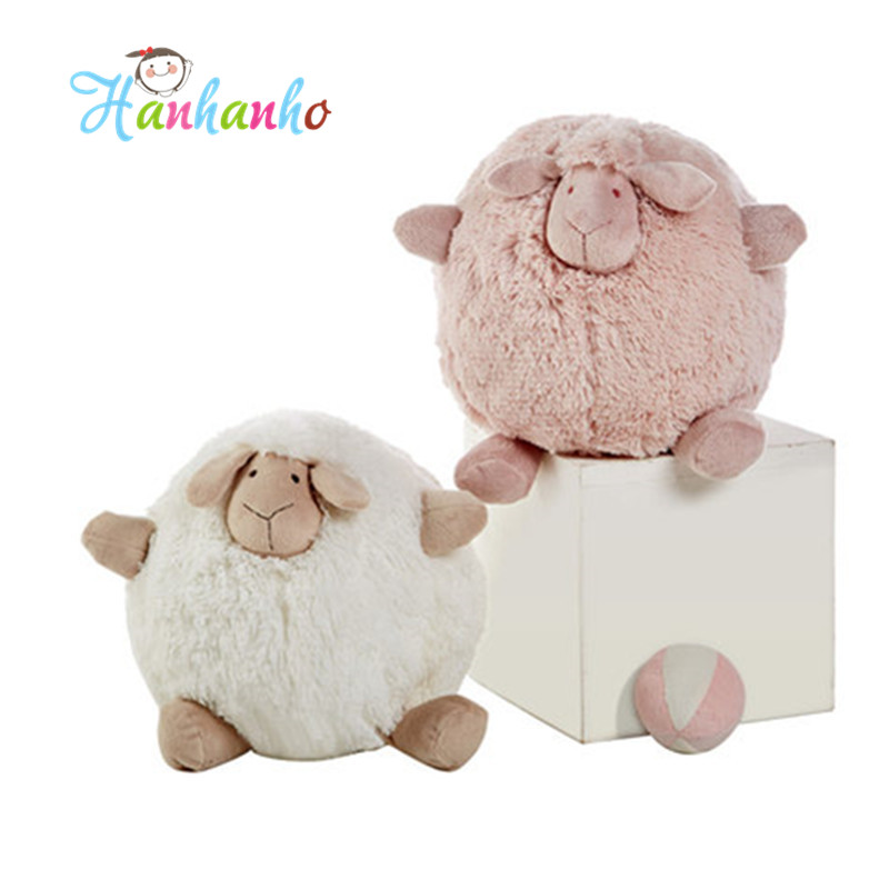 New Arrival Cute Sheep Soft Baby Plush Doll Boys and Girls Stuffed Animal Toy 35cm stuffed animal prone dog plush toy about 85 cm soft doll throw pillow t7790