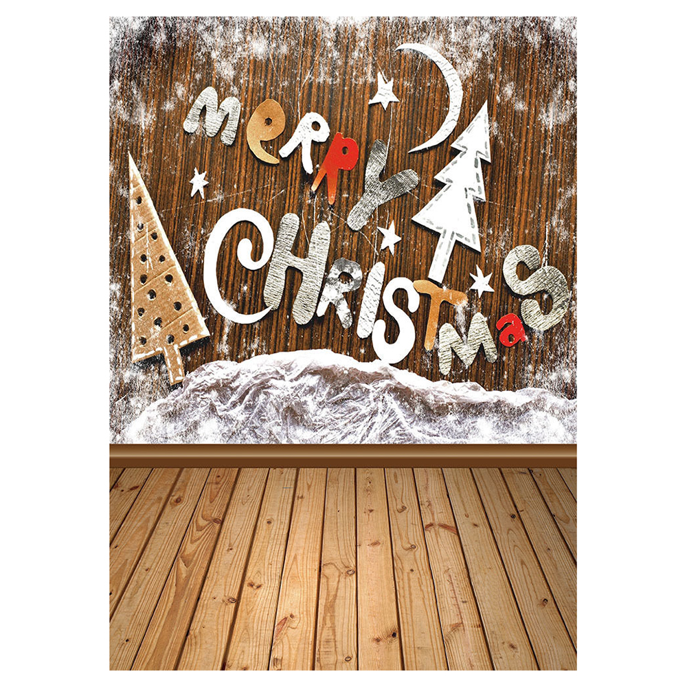 Vinyl Studio Backdrop MERRY Christmas Photography Prop Photo Background 5x7ft shanny autumn backdrop vinyl photography backdrop prop custom studio backgrounds njy33