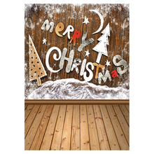 Vinyl Studio Backdrop MERRY Christmas Photography Prop Photo Background 5x7ft