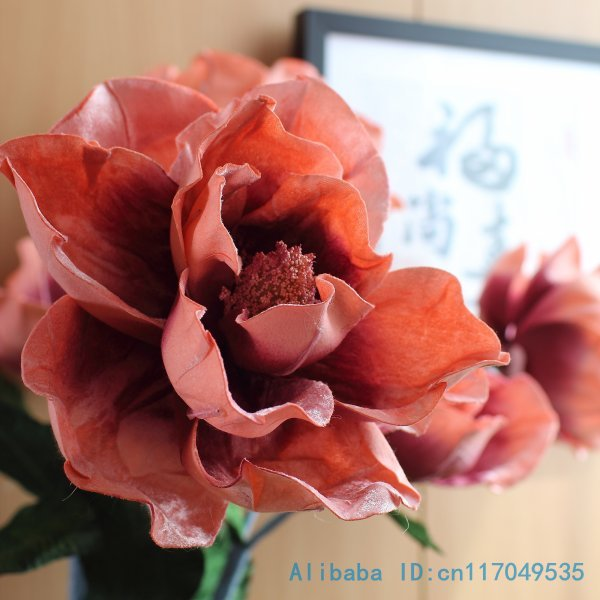 1 pcs beautiful fake big lotus flower silk flower artificial 1 pcs beautiful fake big lotus flower silk flower artificial magnolia denudata home decoration gift f264 in artificial dried flowers from home garden on mightylinksfo Images