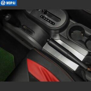 Image 4 - Mopai車のギアシフトノブパネルジープラングラーjk 2007 2010 のためのトリム内装カーアクセサリースタイリング