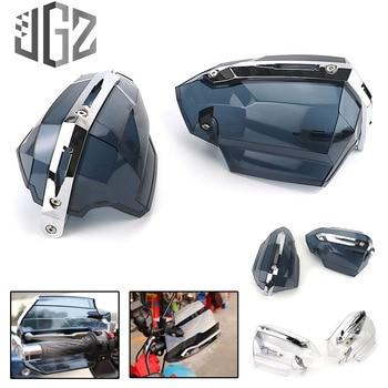 Motorcycle Hand Guards Windshield Wind Deflector Hand Baffle Clear Black Universal For YAMAHA Honda Kawasaki Benelli Aprilia BMW