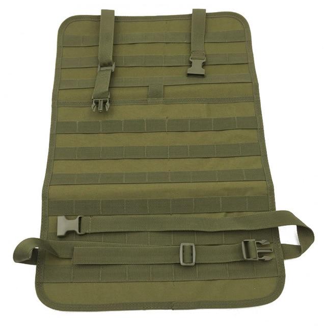Molle Car Gun Holster Case Bag Front Seat Storage Sling Pistols Back Shotgun