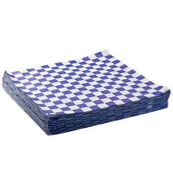1000pcs Hamburger Bread Food checkered Oil Paper Sandwich Packaging Food Oil Paper Wax Paper Baking Paper Liners for Food Basket