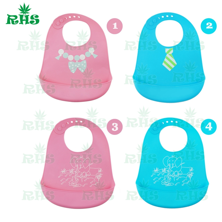 10pcs free shipping Personalized,Patterns and colors adjustable silicone waterproof baby ...