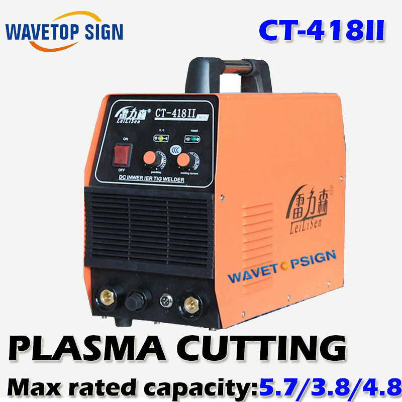 WELDING AND TIG WELDING AND PLASMA CUTTING THREE FUNCTION TOGETHER MACHINE CT418II/HOT SALING. цена и фото