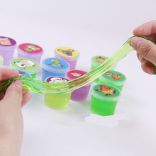 Play Dough Toys Plasticine Clay Slime Fruit Crystal Intelligent Colored Magnetic Kids