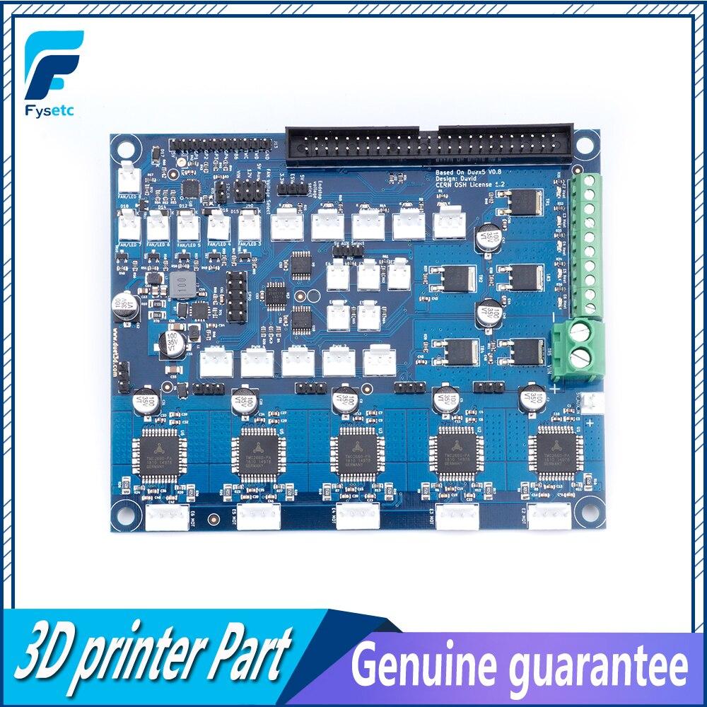 クローニング Duex5 DueX 拡張ボード TMC2660 サポート熱電対や PT100 娘ボード 3D プリンタと Cnc マシン  グループ上の パソコン & オフィス からの 3Dプリンタパーツ & アクセサリ の中 1
