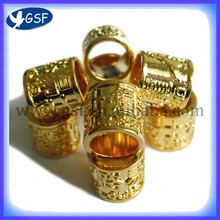 5pc gold Pigeon Ring,8mm