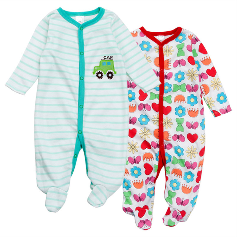 3/2 Pcs tender Babies Random Delivery newborn baby girls rompers jumpsuit Cotton Long Sleeve Pajamas infant costume baby boys newborn infant baby girls boys rompers long sleeve cotton casual romper jumpsuit baby boy girl outfit costume