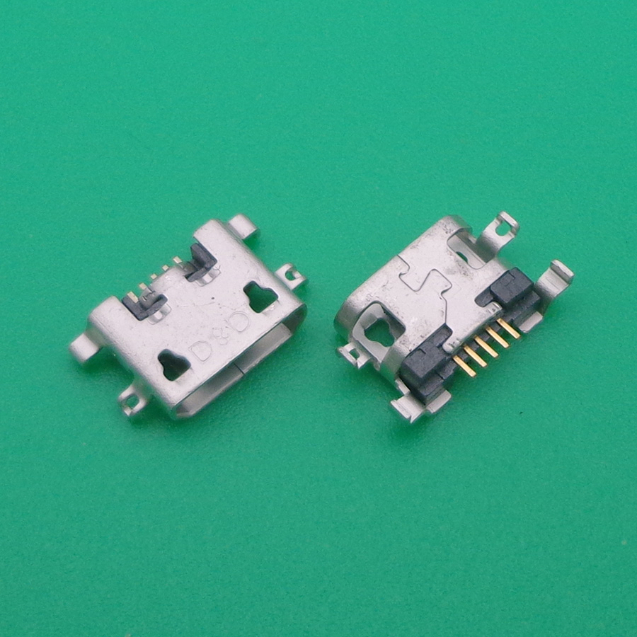 10pcs For Oukitel K10000 PRO <font><b>micro</b></font> mini <font><b>USB</b></font> jack socket <font><b>connector</b></font> Port phone dock plug Charge Board <font><b>PCB</b></font> Cellphone replacement image