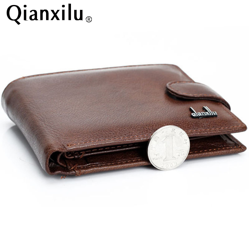 100% cowhide leather wallet best wallets for man real leather purse with coin pocket trifold wallet men genuine leather wallet