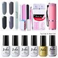 Belen UV Gel Nail Polish Gorgeous Color Nail Gel Polish Vernis Semi Permanent Top Coat Base Coat Gel Lak Varnishes Gelpolish Set