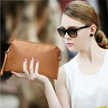 Cattle split leather day clutch bag small women's cowhide bag one shoulder cross-body handbag genuine leather