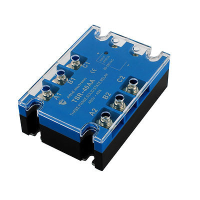TSR-40AA 80-280VAC to 480VAC 40A Three Phase Solid State Relay Module AC to AC saimi skdh145 12 145a 1200v brand new original three phase controlled rectifier bridge module