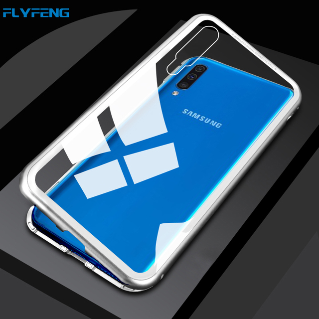 best authentic bdc50 c620e US $7.39 30% OFF|For Samsung Galaxy A50 Case Magnetic Adsorption Metal  Tempered Glass Flip Cover Case For Samsung A50 A30 Case Fundas Shells  Capa-in ...