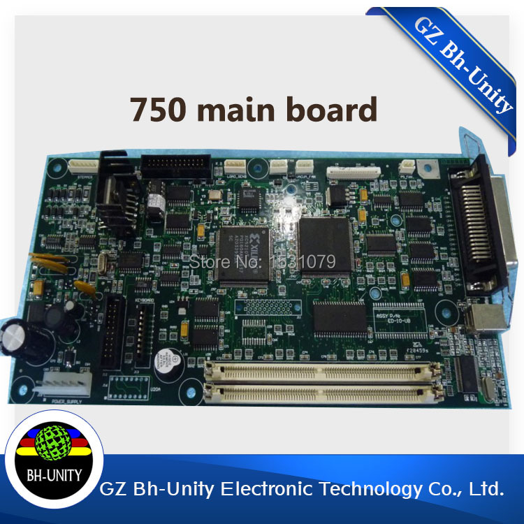 Brand New!!! Large format printer spare parts Main Board For Encad Novajet 750 Injet Printer brand new dx5 printhead driver board for inkjet printer galaxy 1802 slovent printer spare parts