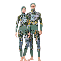 C419 diving suit 3MM hunting diving hunting fish suit men and women split hooded thick warm snorkeling surf clothing