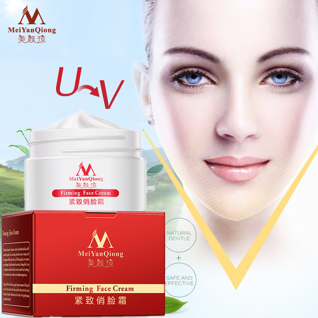 Hot Slimming Face Lifting And Firming Massage Cream  Anti-aging-wrinkle  Moisturizing Beauty V-line Face 3d Cream