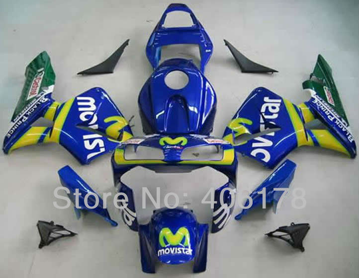 Hot Sales,new cbr600rr 04 03 Fairing For Honda F5 CBR 600 RR 2003 2004 Sport Bike Movi Star Fairings Set (Injection molding) hot sales for honda cbr600rr 2003 2004 cbr 600rr 03 04 f5 cbr 600 rr blue black motorcycle cowl fairing kit injection molding