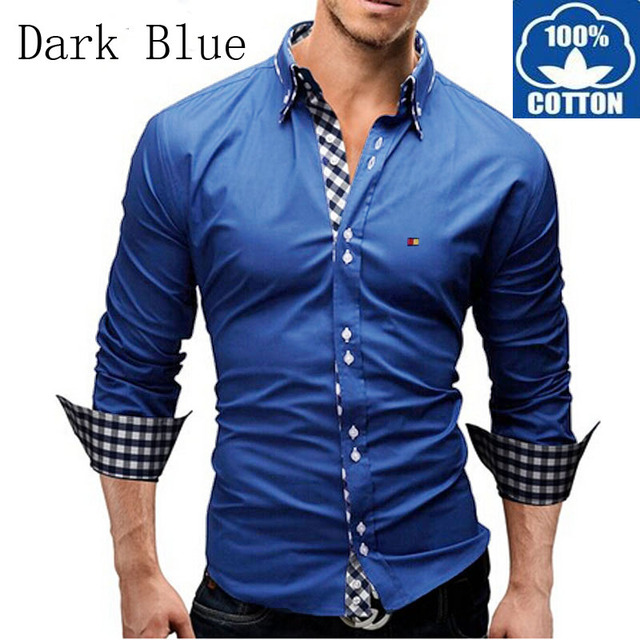 Casual Cotton Shirts For Men - Greek T Shirts