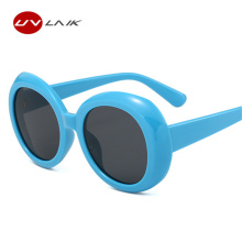 UVLAIK 2018 Clout Goggles Sunglasses Women NIRVANA Kurt Cobain Sun Glasses Vintage Retro Designer Oversized Round Glasses Men