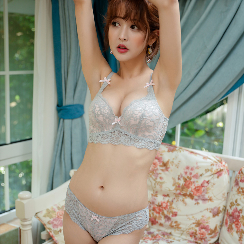 1639f3deb16 MINGMO China Bra And Brief Sets 2018 Wirw Free Women Underwear Adjustment  Type Cotton Bra Set Sexy Lace Cozy Lingerie Black Bra-in Bra   Brief Sets  from ...